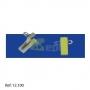 Pinça 32 x12mm c/  Adesivo p/ Porta Cartões