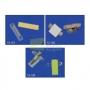 Pinça 40x10mm c/ Adesivo p/ Porta Cartões