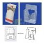 Porta Folhetos PVC - 106 mm