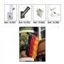 Suportes de Postes para Bandeiras